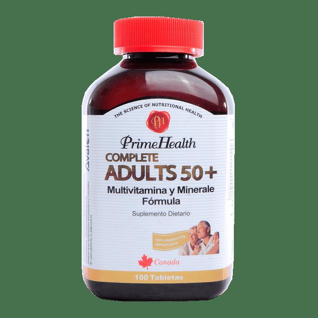 Complete Adults 50+ 100 Tabletas (Multivitaminico)