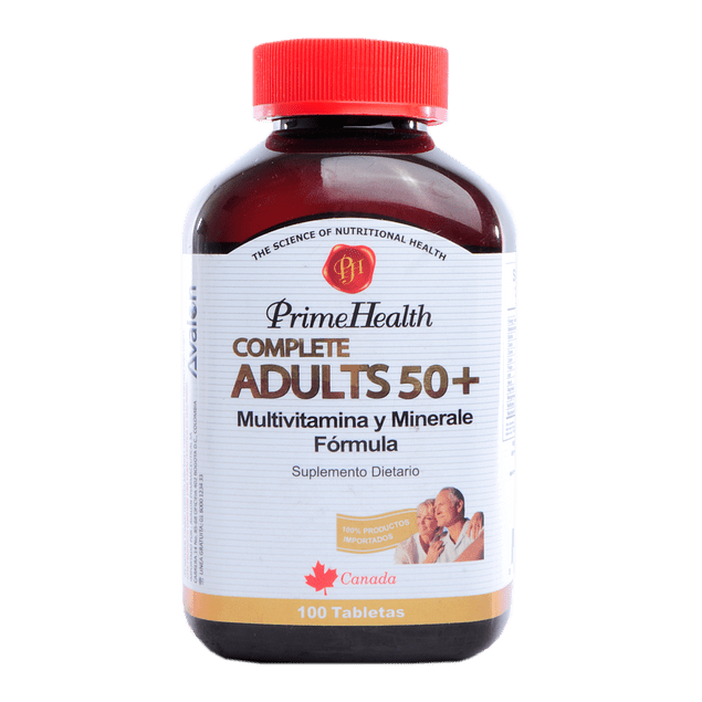 Complete Adults 50+ (Multivitaminico)