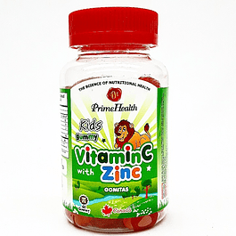 Vitamin C with Zinc 60 Gomitas Prime Health