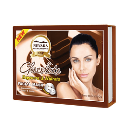 Mascarilla Facial Chocolate Caja x 10 Nevada