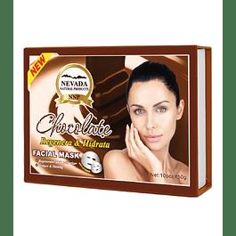 Mascarilla Facial Chocolate Caja x 10 Nevada