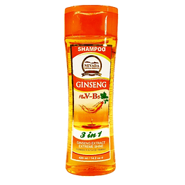 Shampoo de Ginseng Extracto  V-B5  420ml Nevada