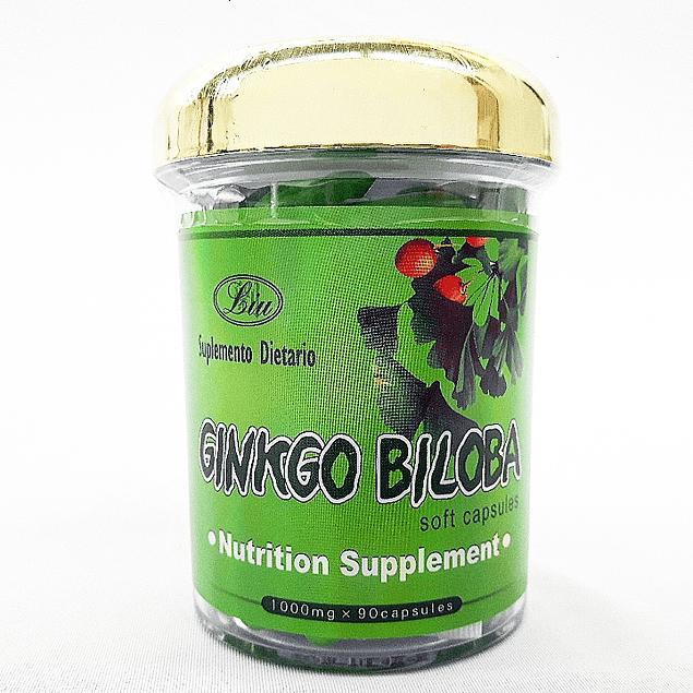 Ginkgo Biloba 90 Capsulas Blandas Liu
