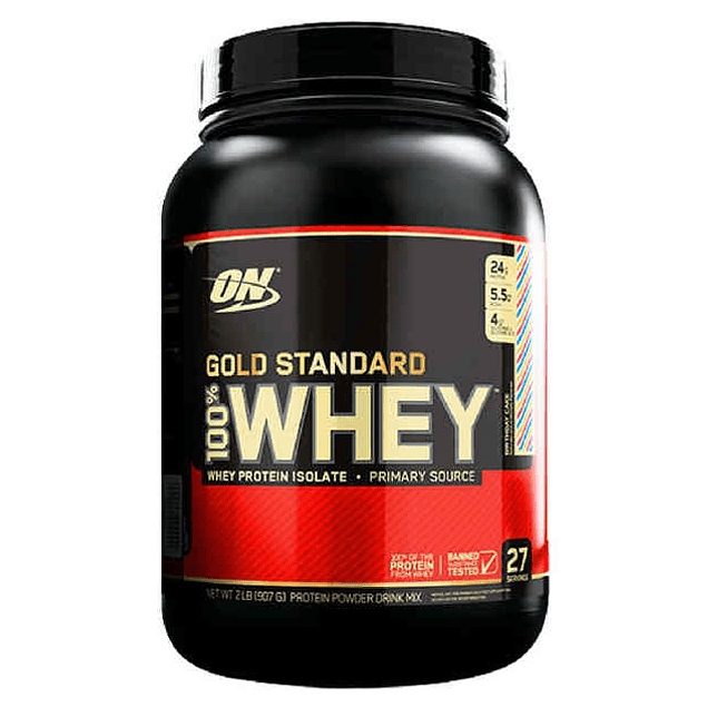 Gold Standard 100 % Whey 2 Libras ON