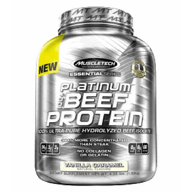Beef Protein - 4.11 Lb - Muscletech