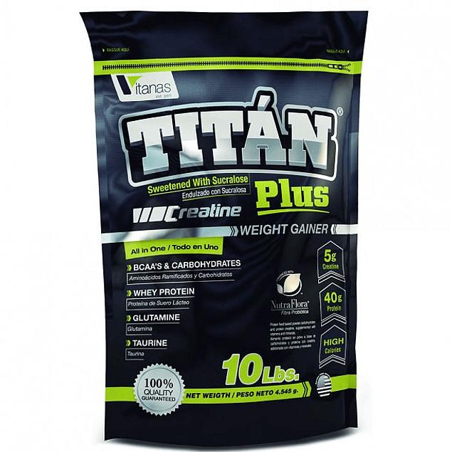 Titan Plus 10 Libras Bolsa Vitanas