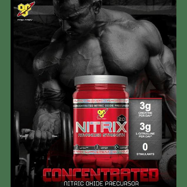 Nitrix 180 Tabletas Bsn Oxido Nitrico