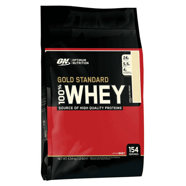 Gold Standard 100% Whey 10 lb  Optimum Nutrition