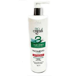 Tratamiento 3 Siliconas mas aceite de argan Biocress 300 ml
