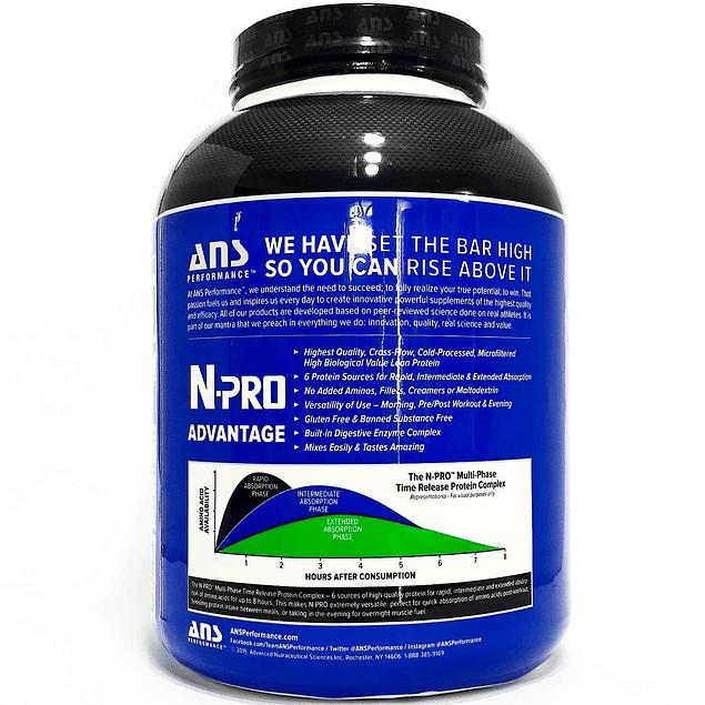 N-Pro Premium Protein 4 Lb 52 Servicios Ans