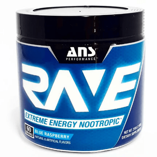 Rave Extreme Energy Pre Workout 60 Servicios