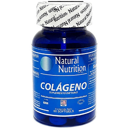 Colageno 60 Softgels 1000 mg Natural Nutrition