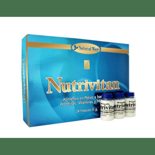 Nutrivitan 24 Frascos Multivitaminico