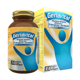 Geriavital Multivitaminico 100 Softgels Healthy America