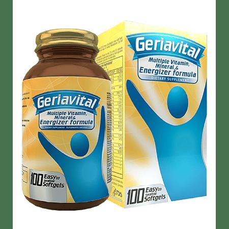 Geriavital Multivitaminico 100 Softgels Healthy America