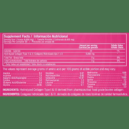 Rejuvicare Colageno en Polvo 198 gr Healthy America