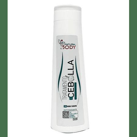 Tratamiento Capilar de Cebolla Natural Body 400 ml