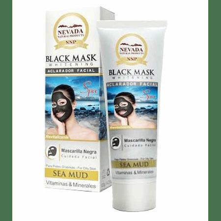 Black Mask Nevada Mascarilla Facial 120 gr 4.23 Onz Barro Marino
