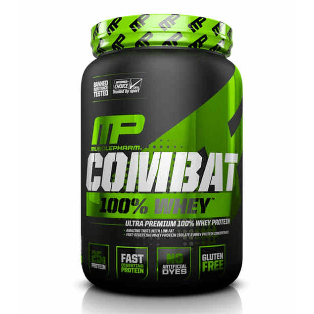 COMBAT 100% WHEY 2 libras Musclepharm