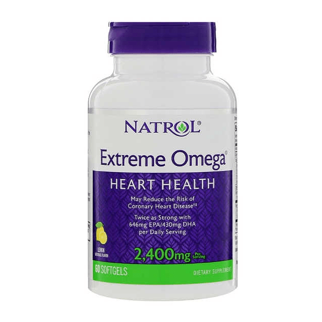 Xtreme Omega 2400 mg 60 Softgels Natrol