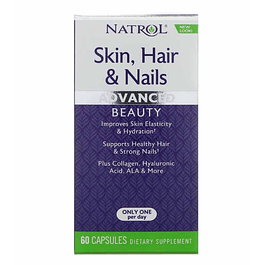 Skin, Hair and Nails Advance 60 Capsulas