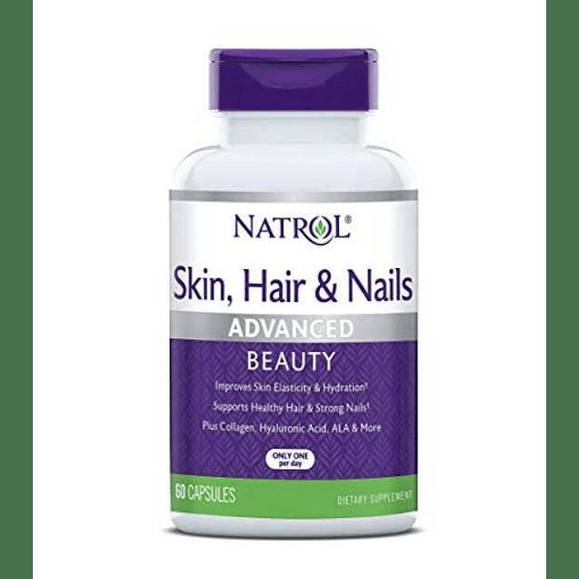 Skin, Hair and Nails Advance 60 Capsulas