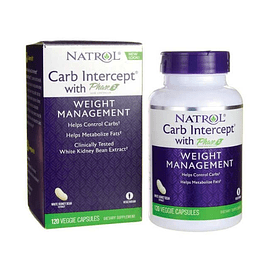 Carb Intercept with Phase 2 120 Capsulas Vegetales