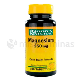 Magnesium 250 mg GoodN Natural 100 Tabletas