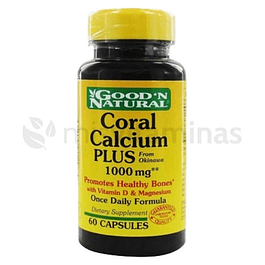 Coral Calcium 1000mg 60 Capsulas Good´n Natural