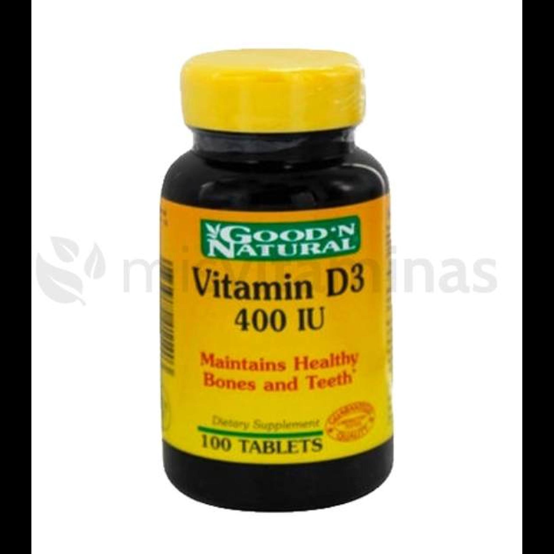 Vitamina D3 400 IU GoodN Natural