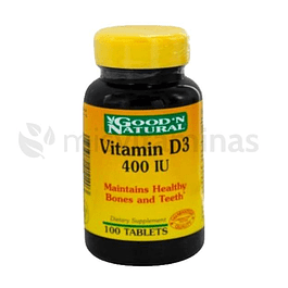 Vitamina D3 400 IU GoodN Natural