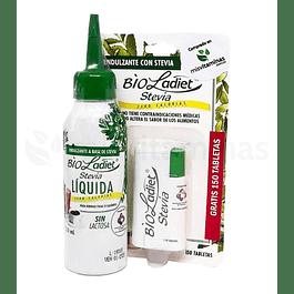Bio Ladiet Stevia Liquida 120 ml mas 150 tabletas gratis