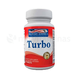 Turbo Potenciador Tabletas Healthy America