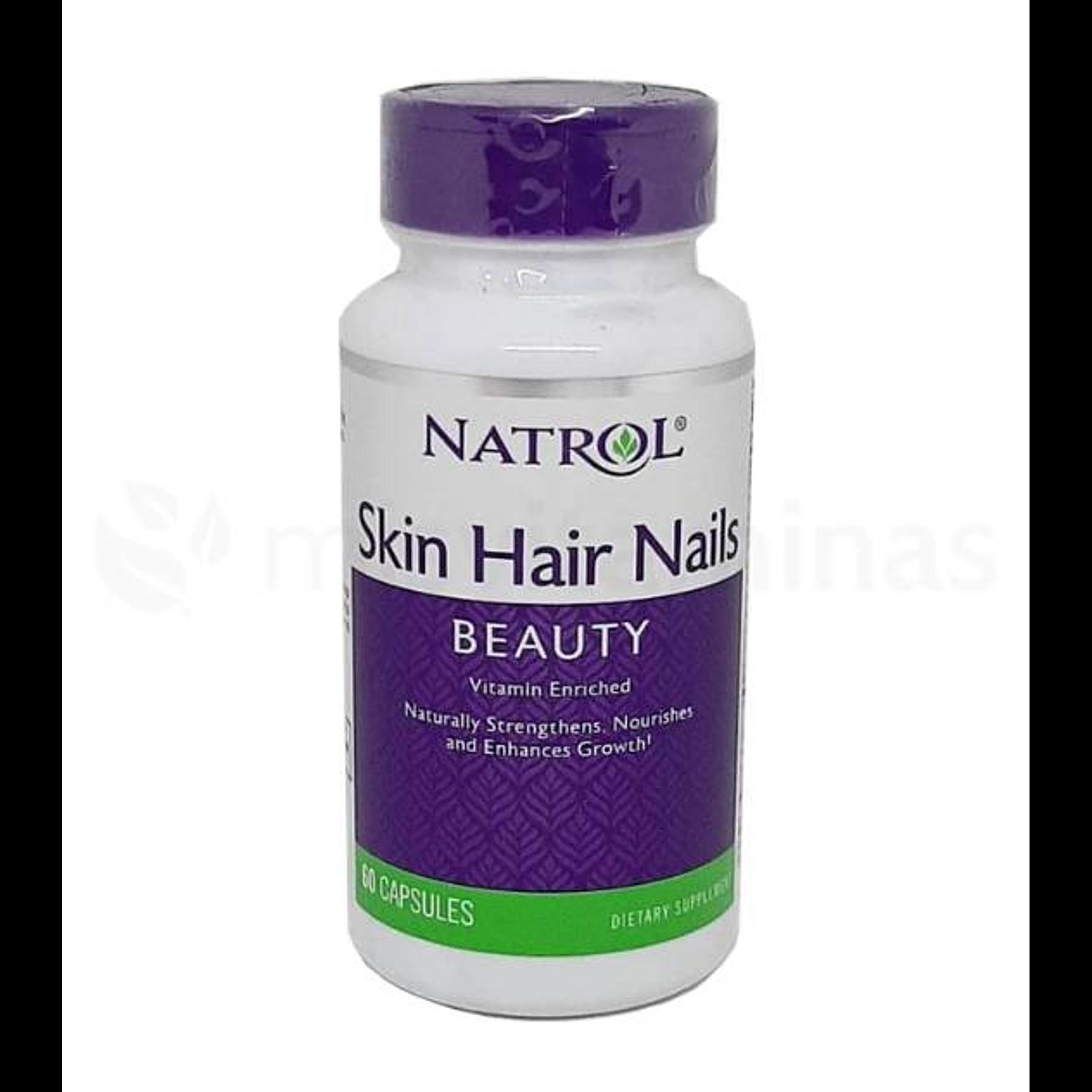 Skin Hair Nails Beauty Natrol