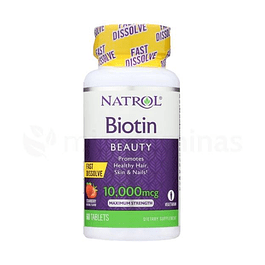 Biotin Fast Dissolve 10000 mcg natrol