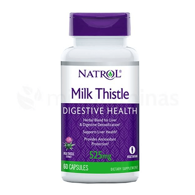 Milk Thistle 525 mg Natrol