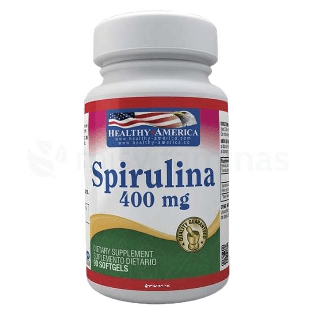 Spirulina 400 mg Healthy America