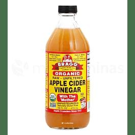 Vinagre de sidra de manzana BRAGG