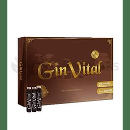 Gin Vital Multivitaminico 24 Frascos