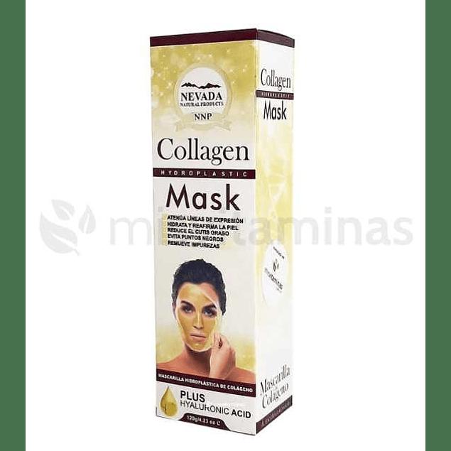 Mascarilla Facial  Hidroplastica de Colágeno con Ácido Hialurónico