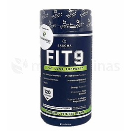 FIT 9 Fat Loss Support Sascha Fitness Quemador