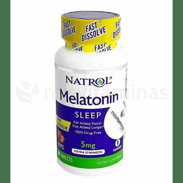 Melatonin Sleep 5 mg Rápida Absorción Natrol