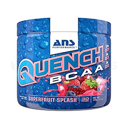 Quench bcaa superfruit splash aminoácidos ANS
