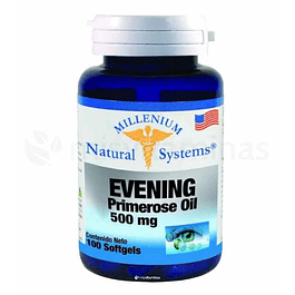 Evening Primrose Oil 500 mg Natural Systems