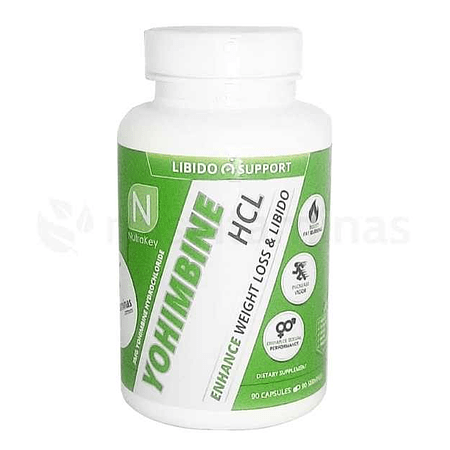 Yohimbine HCL 3 mg Nutrakey
