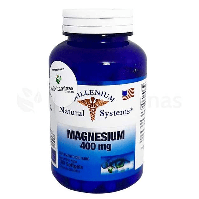 Magnesium 400 mg Natural Systems