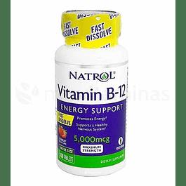 Vitamina B12 energy Support 5000 mcg