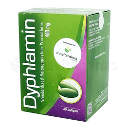 Dyphlamin Harpagofito 480 mg Healthy America