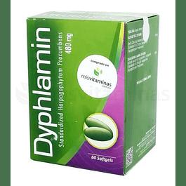 Dyphlamin Harpagofito 480 mg Healthy America