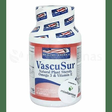 Vascusur Natural Plant Sterols Omega 3 Y Vitamina E